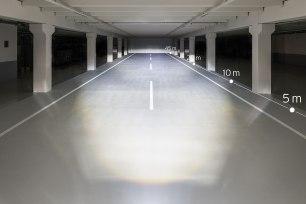Ausleuchtung mit 150 LUX (Quelle: Busch und Müller)