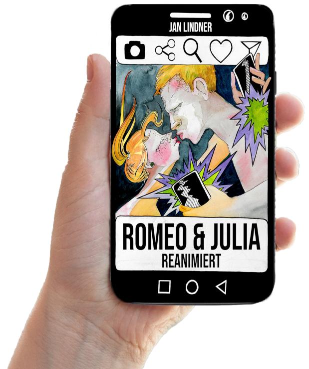 Romeo & Julia - Reanimiert_Hand mit Handy