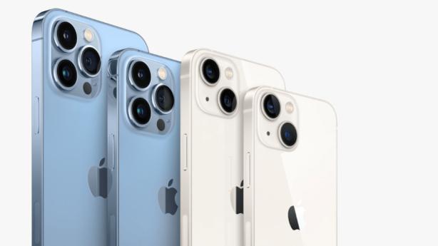 die neue iPhone 13 Reihe © Apple.com